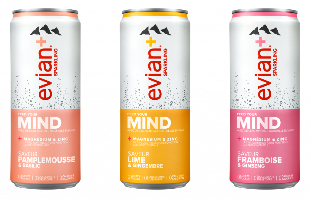 Feed Your Mind mit evian+